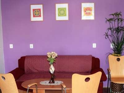 Prostor k odpočinku - Bydlení na heřmánkovém vršku
