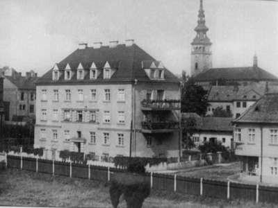 Budova Máchova - rok 1960