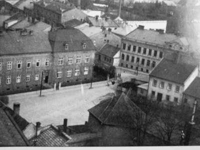 Budova Bezručova - rok 1940