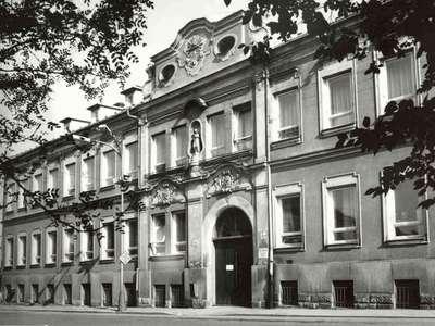 Budova Bezručova - rok 1960